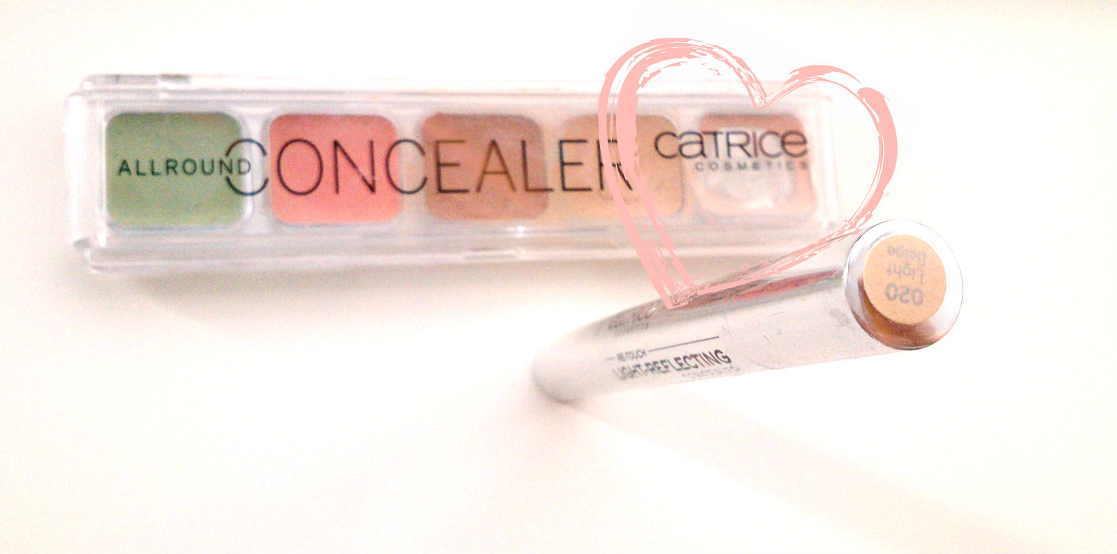 Hihglighter allround Concealer Palette