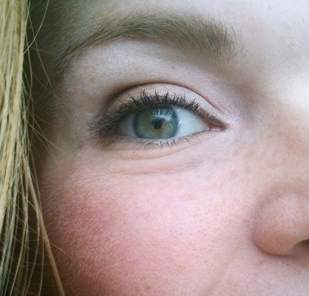 Augen Make-up Herbst