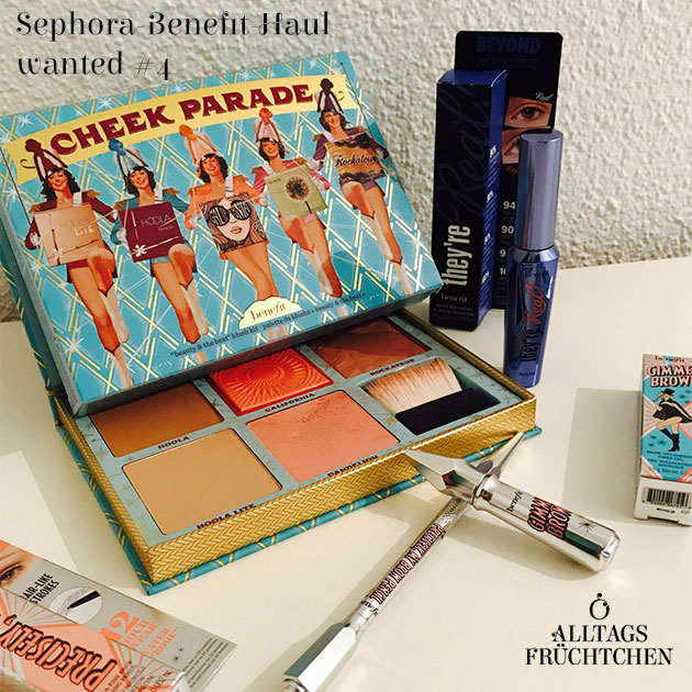 Sephora-Benefit-Haul wanted #4